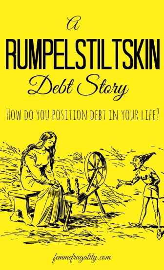 Wha??? This family named their child after their BANK! It really is a Rumpelstiltskin debt story!