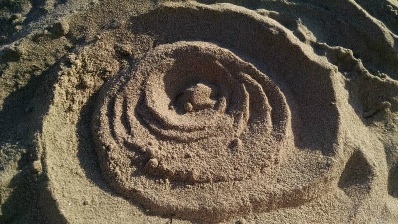 sand-spiral