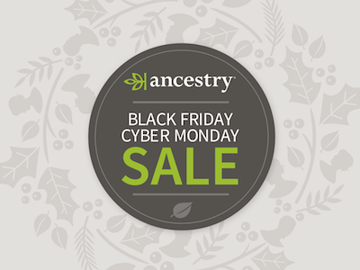 Ancestry DNA black friday cyber monday