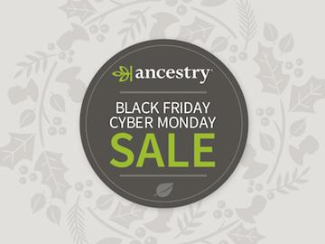 Ancestry DNA black friday cyber monday