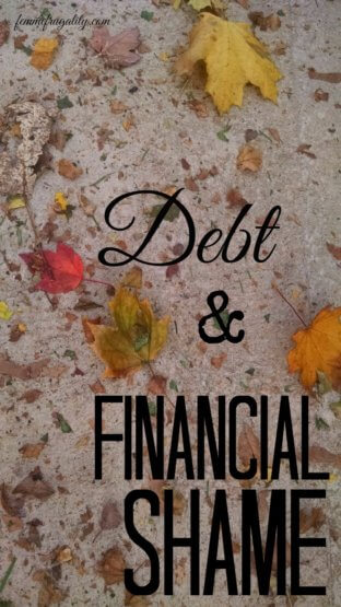 Financial shame is something I dealt with when I was in debt. These are some great tips for releasing the emotional shackles.