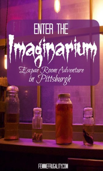 Wow this looks crazy cool! Enter the Imaginarium---an escape room adventure in Pittsburgh, PA