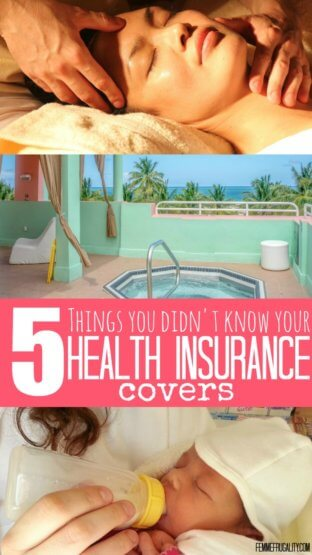 Okay, I'm definitely checking my policy to see if my health insurance covers formula or a hot tub. The third one on this list is pretty amazing, too!