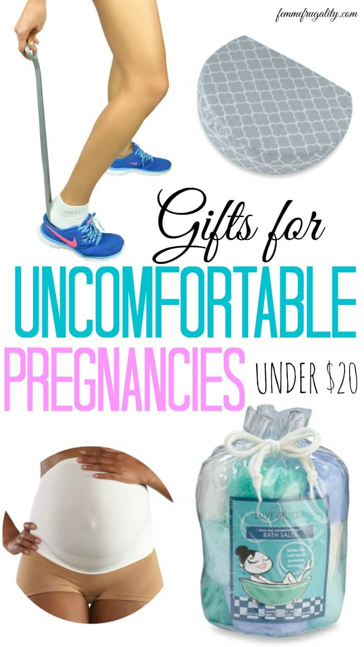 OMG wish I had these during my own uncomfortable pregnancy! The first one is genius.