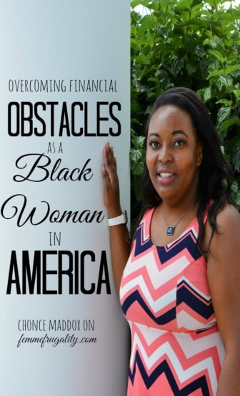 As a black woman in America, there are so many financial obstacles. Love how she overcame so many!