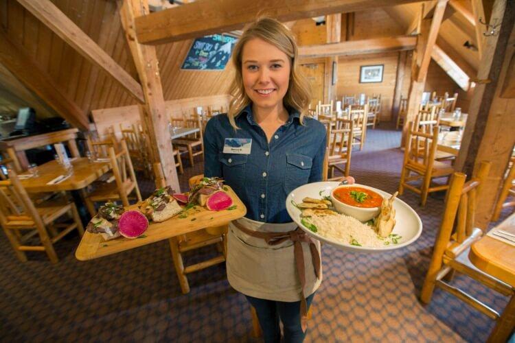 Lake Louise dining options