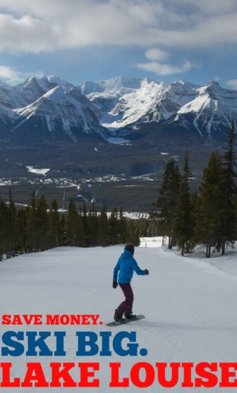 Wow..these mountains for that much?! Lake Louise Ski Resort really IS a great deal! Can't believe they're open till May 7, too!