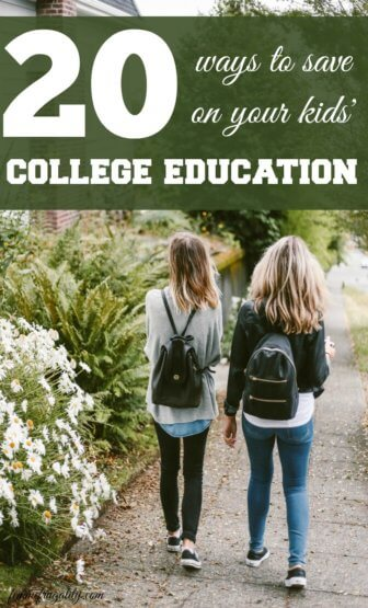 I had zero clue about number 12! So glad I read! 20 Ways to Save on Your Kids' College Education