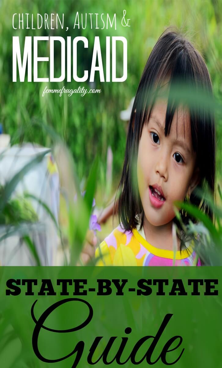 I didn't know there were so many ways to get children with autism on Medicaid! This state-by-state guide is incredibly helpful!