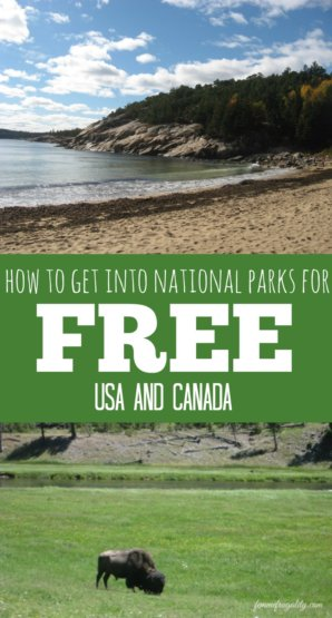 This is incredibly useful and is going to save me some money! It tells you how to get into national parks for free--in the US and Canada.