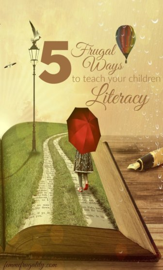 Number one is such an awesome freebie! Can't wait to implement these five frugal ways to teach literacy.