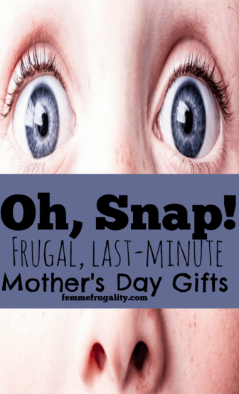 Shoot! Totally forgot Mother's Day was this weekend! These are awesome last-minute ideas--I don't even think Mom will be able to tell!