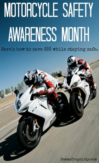 "Interesting trend--motorcyclists shouldn't try to save money on safety gear, but should try to save it on ""the look"" and financial products."