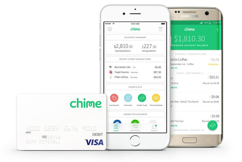 Check out all the cool features Chime gives you to help you establish better money habits.