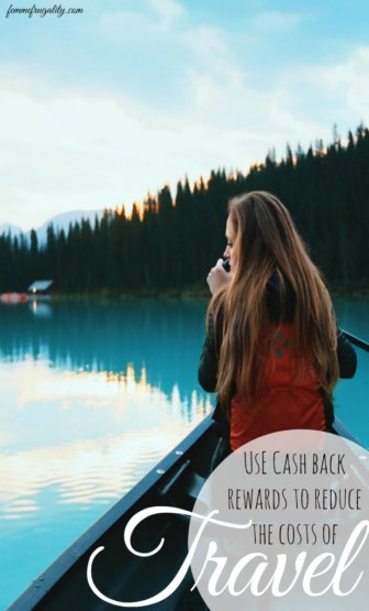 "I can't believe I never thought of this---you don't have to use ""travel"" rewards to get free travel. You can use cashback rewards instead!"