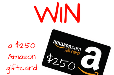 Win a $250 Amazon GiftCard plus 7 fab books to kick off summer reading!