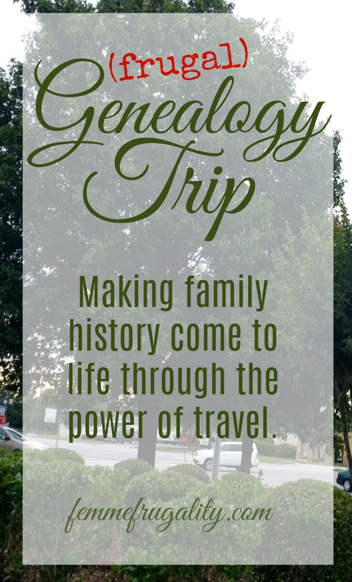 This is so cool. Inspired me to plan a frugal trip to help make my own genealogy come to life.