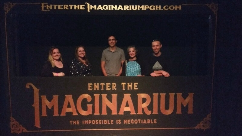 FinCon PGH at the Imaginarium in Pittsburgh.