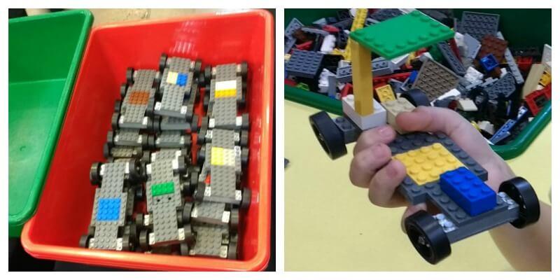 Racing cars at LEGO Brick Fest Live!