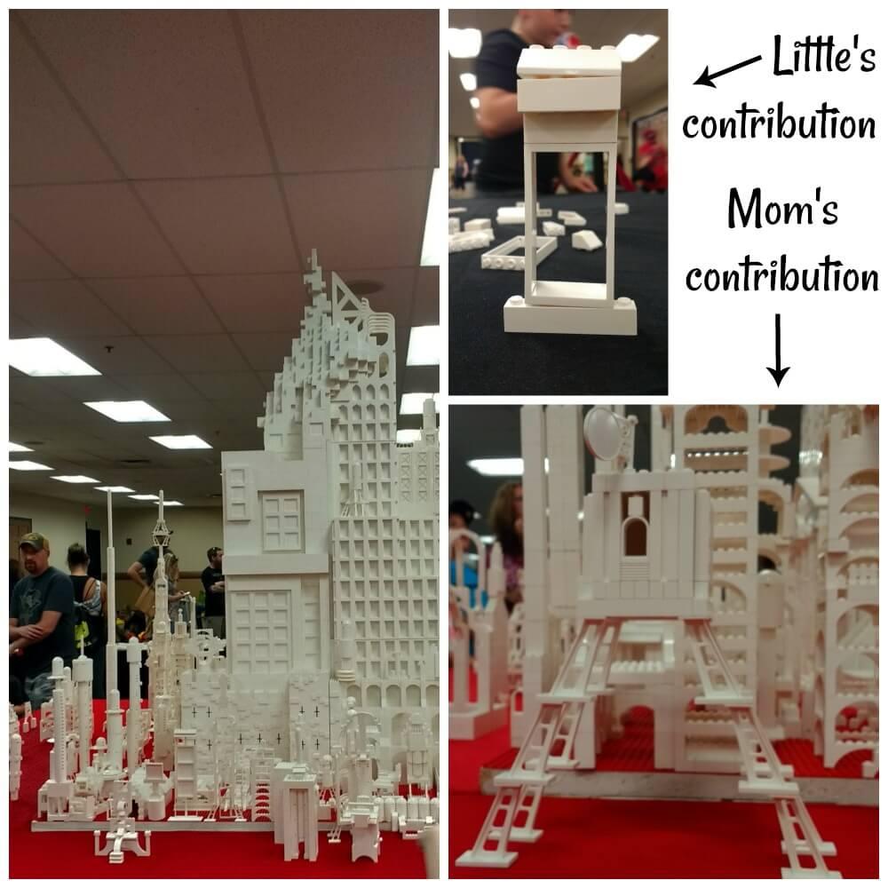 LEGO Inspiration Station at Brick Fest