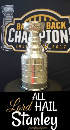 Reasons why you should respect the Stanley Cup and the team who won it in 2017--the Pittsburgh Penguins!