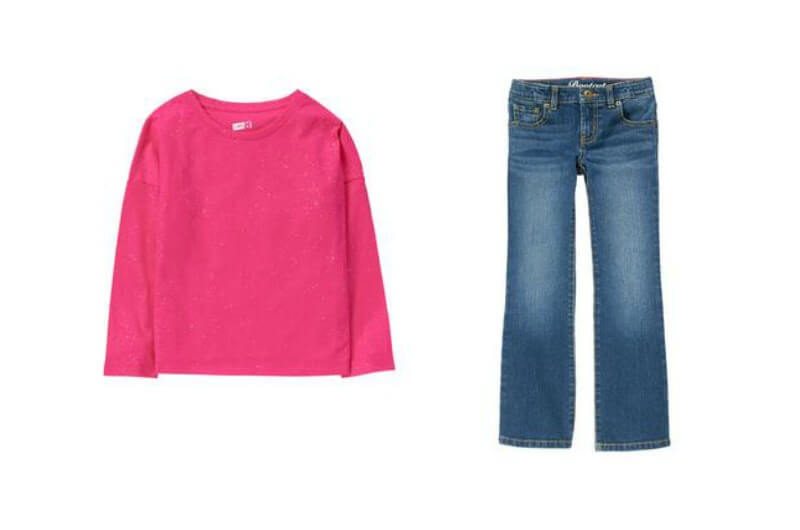 Check out this deal on girls' jeans at Crazy8.