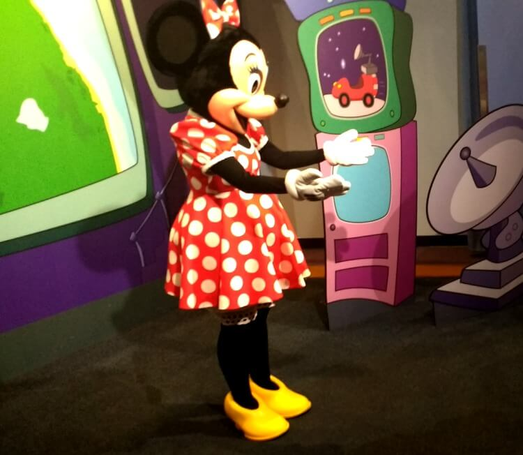 Find out how to meet Minnie Mouse for free at Disney World.