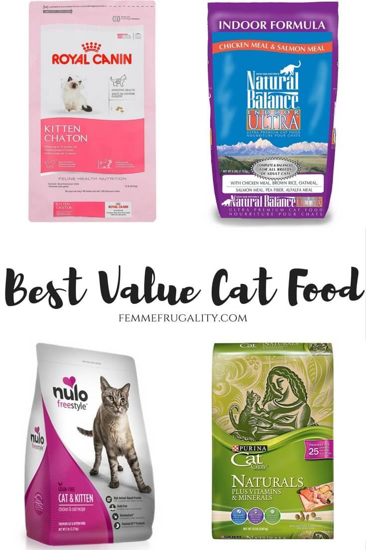 Best Value Cat Food Published September 24 2017 At 735 1102