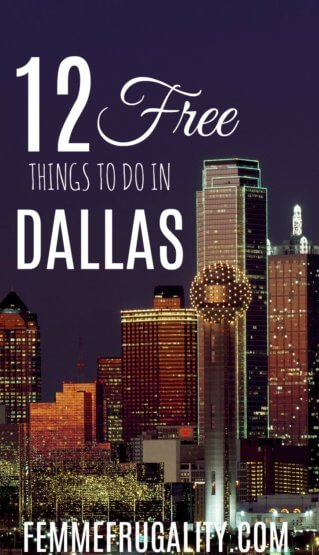 Dang, Dallas has some cool stuff to do for free!