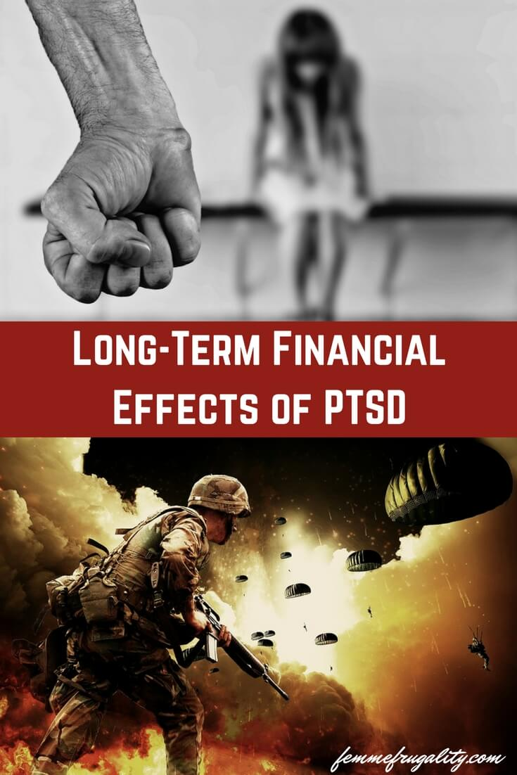 I never knew abuse could stay with you so long after the fact--or that PTSD could have an effect on your money.