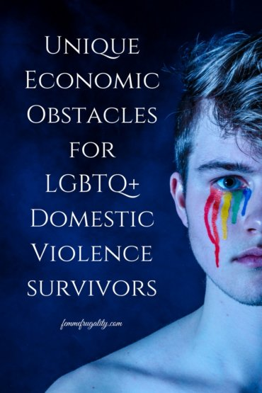 I didn't know intimate partner violence happened at the same rate in the LGBT community. These added hurdles are so messed up, too. Why are there not protections?