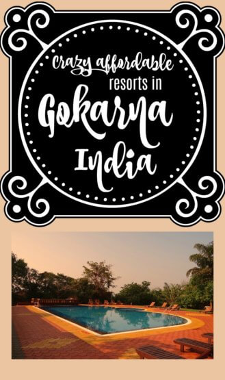 Very cool way to do budget travel while still staying at luxe resorts. Adding Gokarna, India to the achievable part of my bucket list!
