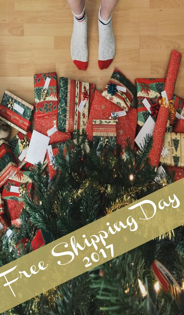 These are some great deals for holiday shopping! Plus free shipping--I heart frugality.
