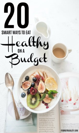 Super smart tips! Maybe I actually can feed my family great, healthy foods without breaking the bank. This is going to be my year!