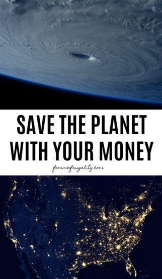 Implementing these over the next couple of days! Big ways you can do your part to help the environment by using your wallet.