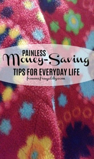These are some great tips to save money on everyday expenses!