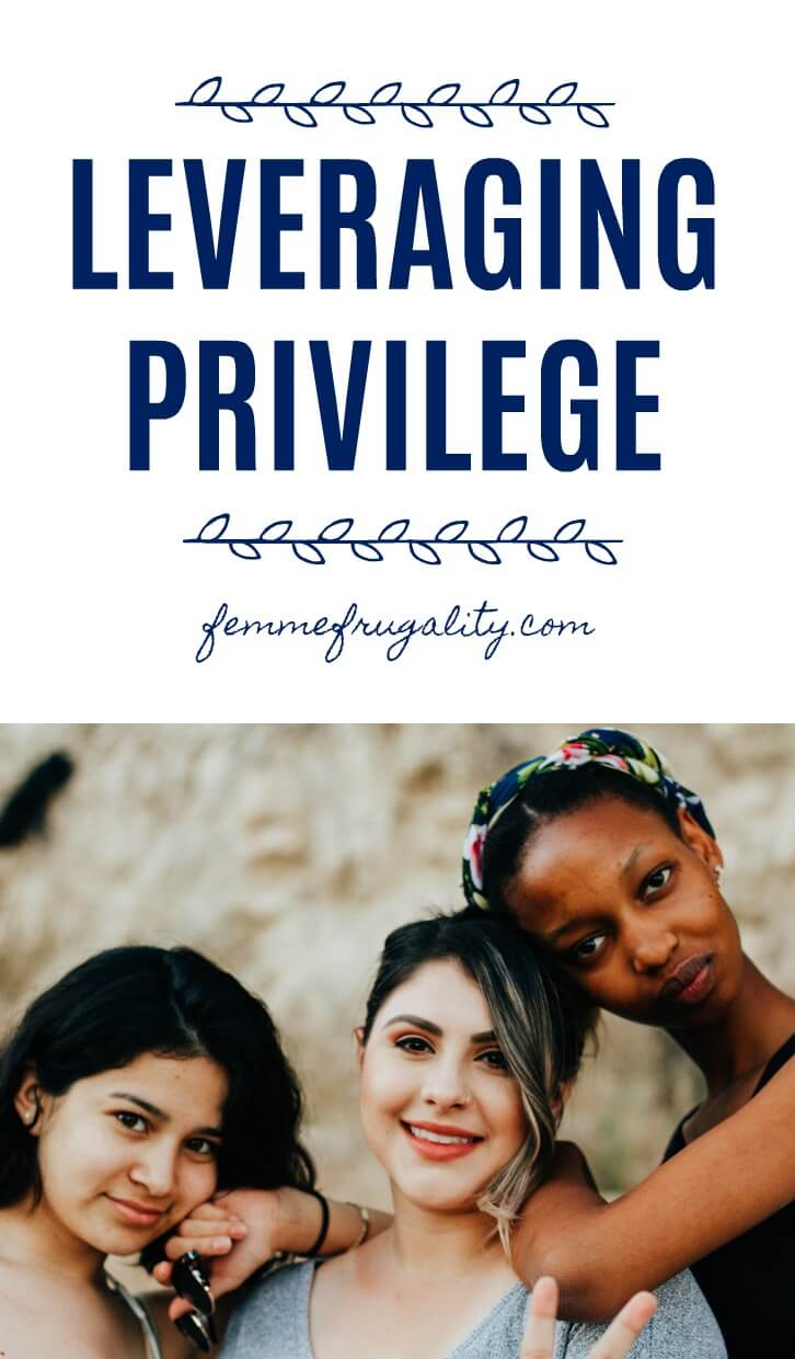 Been thinking about this a lot lately. How to leverage privilege to fight systemic oppression--specifically in the workplace in this piece.