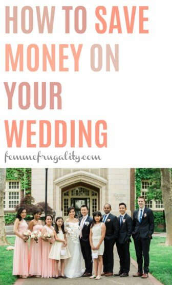 I would have never thought of this to save money on a wedding dress! Tons of other ideas in here, too.