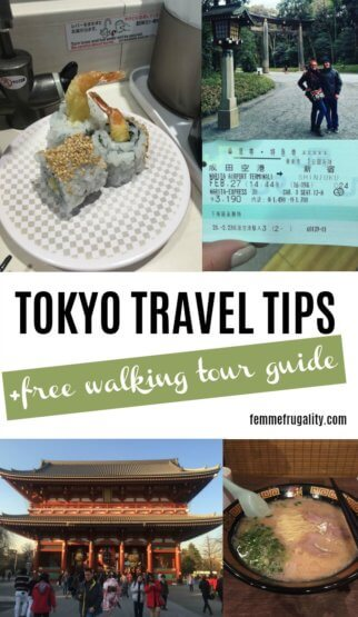 Definitely using this free walking tour guide when I travel to Japan next summer!