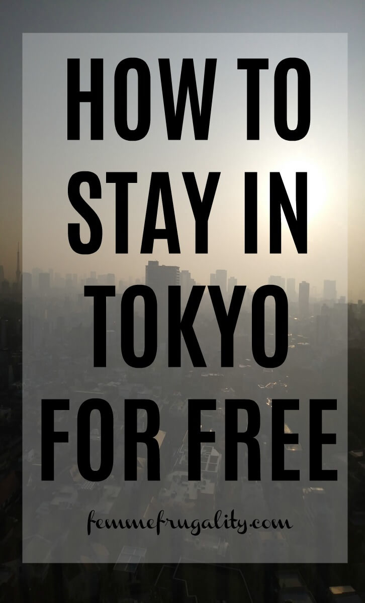 She stayed at some REALLY nice hotels for free. Definitely pinning for the trip to Japan I'm planning!