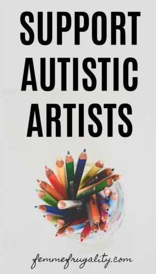 Wow, there's some great artists on this list--a lot of them working for Autism Acceptance! Headed to Etsy...