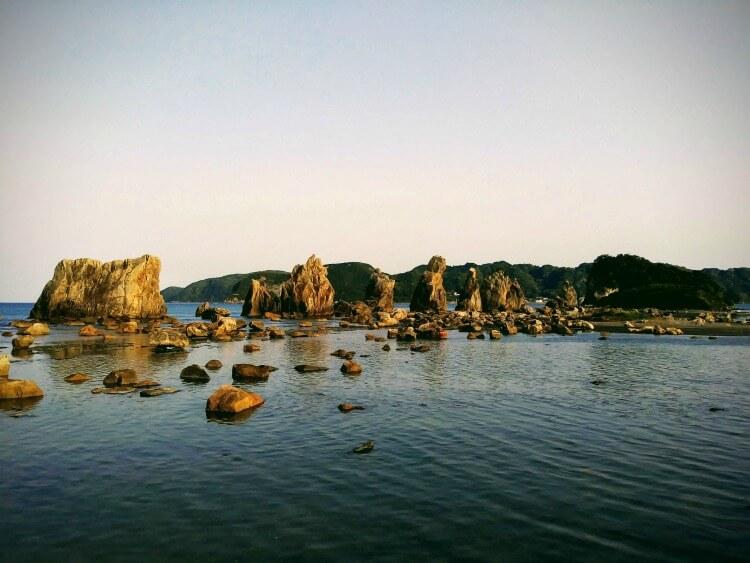 rock formations wakayama
