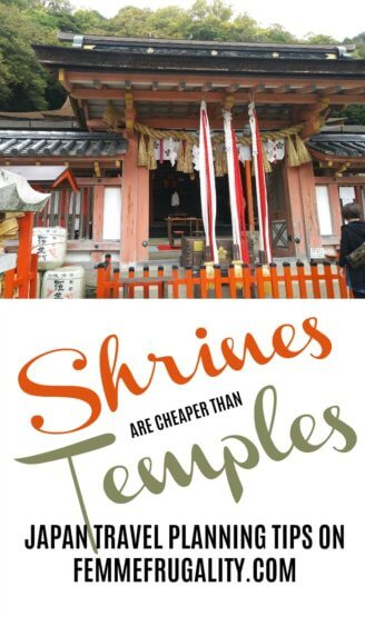 Great travel tip! I want to visit so many spiritual sites while I'm in Japan, and now I know how to do it more affordably to make the most out of our trip.