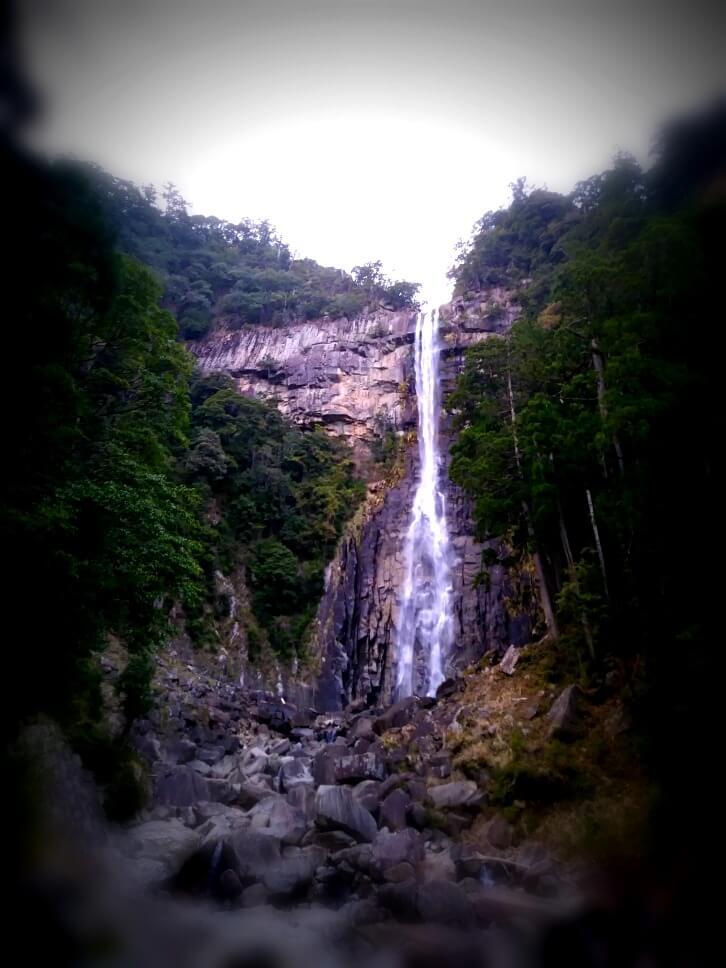 tallest waterfall in Japan