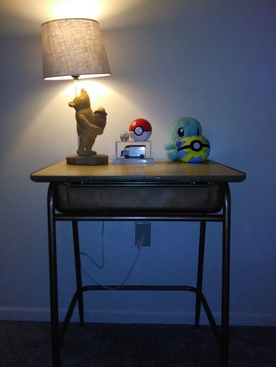 winne the pooh lamp