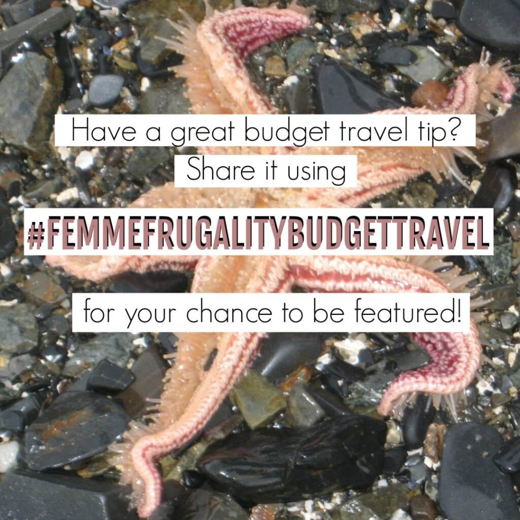 Share your best budget travel tips every week to be featured!