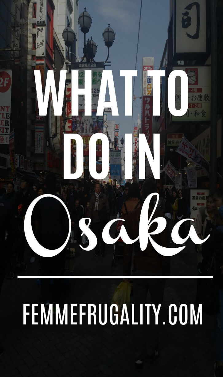 Punk rock shows, baseball games, local fare...makes me want to go to Osaka, Japan! Loving the cultural differences in frugality and money-saving measures, too.