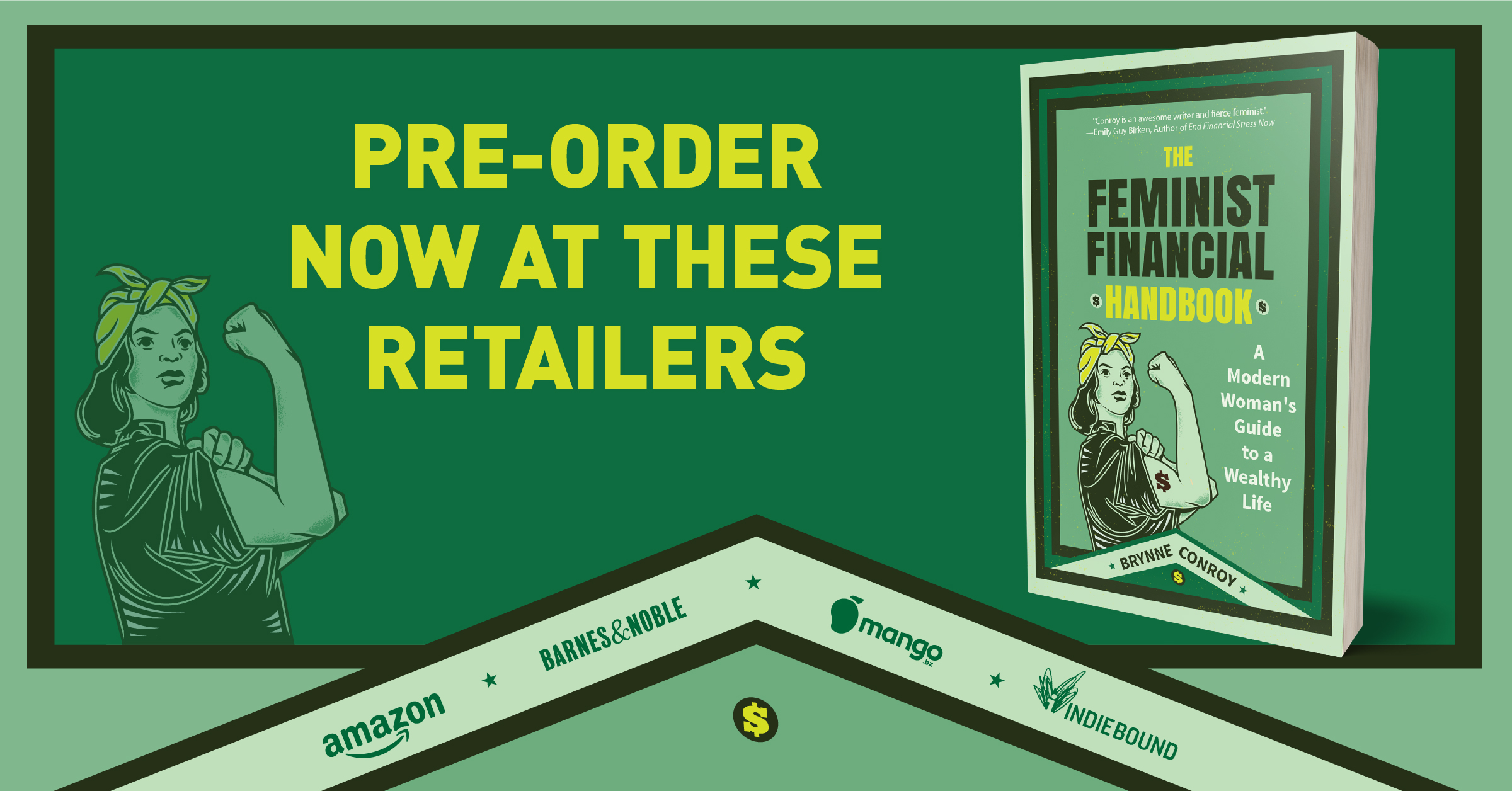 Preorder the feminist financial handbook mango barnes and noble amazon indiepress