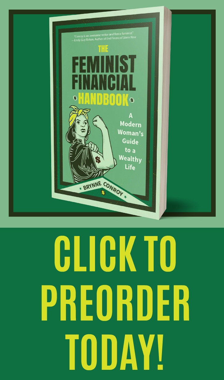 This book is so needed! Excited to be one of the first to get my hands on The Feminist Financial Handbook. Fighting the patriarchy and kyriarchy while building my wealth.