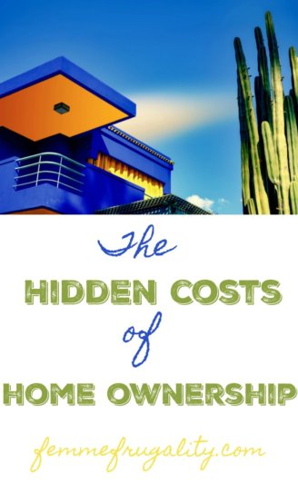 Hmmm..maybe I should save up some more money before taking the plunge into homeownership...